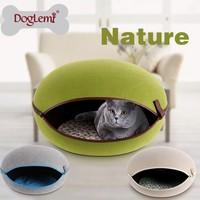 2015 DogLemi Cat Application Wooden cat Bed & Hamburger cat Bed