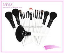 facial beauty brush cosmetic brush 16pcs makeup brush bag OEM factory