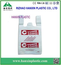 wholesale promotional printed recyclable reusable foldable custom made cheap plastic shopping bags