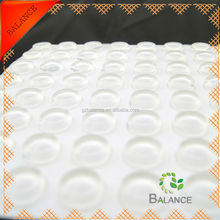 3M SELF-ADHESIVE RUBBER CABINET FEET ROUND BLACK PROTECTIVE BUMPER PAD 56/SHEET