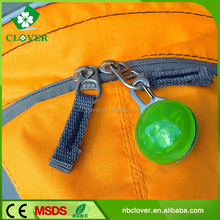 Popular design promotion gifts plastic mini led flashlight keychain