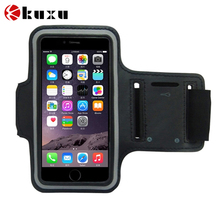 Discount Sports ArmBand Case Cover Holder Running Jogging Gym Arm band mobile phone bag for iphone6