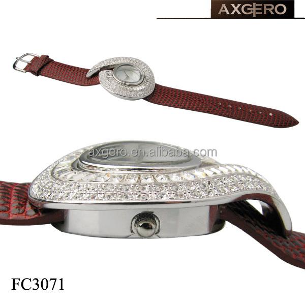 Fashion vogue watch quartz jewelry watch for girls