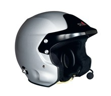 Stilo TROPHY PLUS DES Racing Helmet w Rally Electronics & M6-HNR Nut ~Large