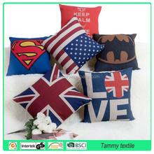 High quality Digital Print Cushion ,decorative car cushion ,eco-friendly cushion cover embroidery design