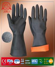A prueba de calor de látex guantes de trabajo