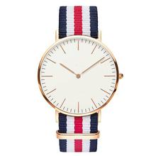 2015 Newest nato strap Minimalist style mens oem automatic watch with custom logo watch