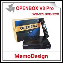 Openbox V8 pro combo hd Internet Sharing dvb-t2/dvb-t2 decoder Set Top Box/dvb t2 dvb-c set top box For asia europe africa