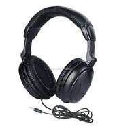 airline passenger overhead headband type headphone