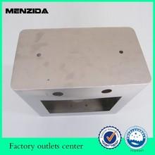 metal case factory aluminum sheet metal laser cutting and bending case
