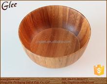 beauty handmade bamboo fiber bowl for serving