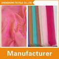 Hl10 de nylon brillante de fantasía de tela de organza/de organza de cristal
