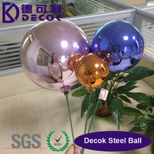 Colorful Decoration Plastic Hollow Christmas Ball Giant