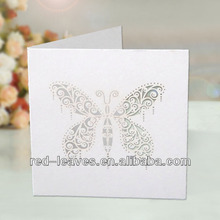 Chic Butterfly Shape Greeting Card/Thanksgiving Greeting Card HG1203-01