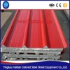 eps sandwich panel roofing prices,eps sandwich roof panel supplier 950mm width