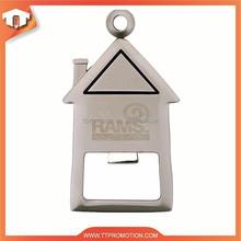 2015 custom zinc alloy bottle opener with high quality