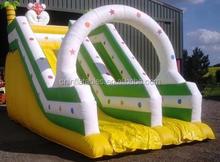 inflatable slide/inflatable large garden slide