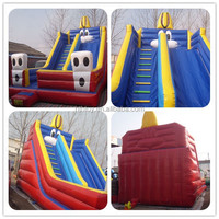 2015 PVC water slides inflatables