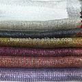 purpurina de colores de la tela de organza