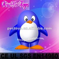 inflatable penguin cartoon character