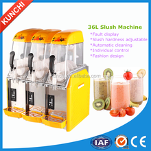 Hot sale! Latest technology 3bowl snow mud machine / snow melt machine / slush machine