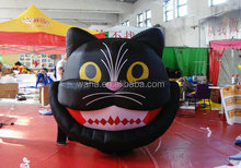 2015 look fierce inflatable cat for halloween
