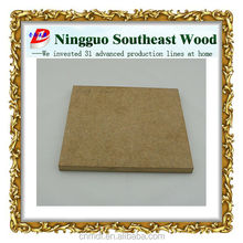 high quality CARB P2 mdf board for furniture/decoration/mdf