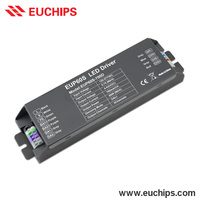 wholesale shanghai Euchips 120-277VAC 700mA 2 channel 60w dali dimmable constant current led driver