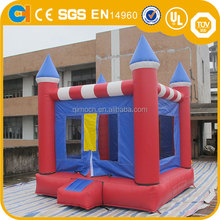 Customized Inflatable Red Bouncy Jump, inflatable bouncer combo, outdoor inflatIable castle for kids