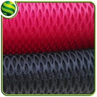 top quality high elasticity 3d air mesh fabric diamond mesh material for car seat covers,backpacks