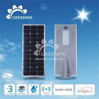 New solar system All in One Solar LED Street Lamp 50W