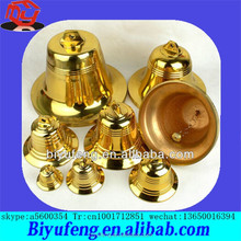 hardware metal mini small alloy copper brass church temple cow horn bell