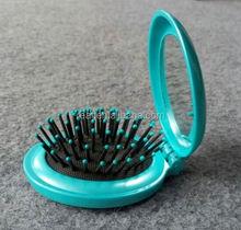2015 Gift stock brush mirror with comb mirror decorative mirror brush comb set