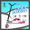 Plastic deck 3 wheel foldable tri frog swing scooter