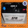 CBB low maintenance free battery 12V 45AH dry charge truck battery heavy duty battery