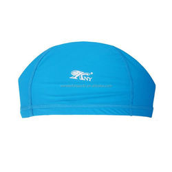 hot lycra swim caps,factory manufacture,promotional cool soft silicone ear swim caps