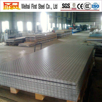 building construction maintenance site tear drop checkered steel plate