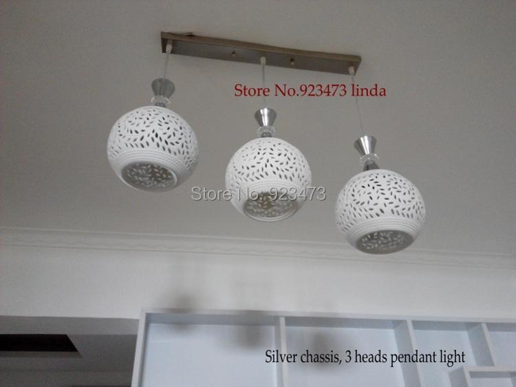 Nouveau gros livraison gratuite mode moderne pendentif en c ramique lampe pour salon chambre - Lampe moderne salon ...