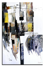 famous abstract fabric handmade painting designs oil Painting 53998 for living room