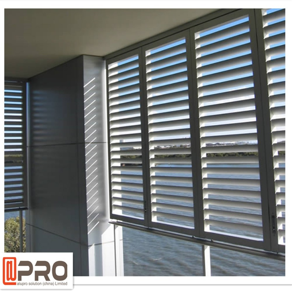 Fashion Design Exterior Aluminum Louvered Door View Louvers Apro Product Details From