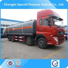 dongfeng 8x4 chemical liquid transportation tanker truck,chemical liquid vehicle