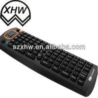 2.4 GHz Wireless+QWERTY Keyboard remote control