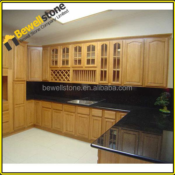 Batu Alam Hitam Granit Countertops Dapur Desain Modern Usa Countertops Kesombongan Puncak