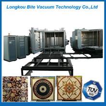 Ceramic Metallizing ion plating machine/mosaic tiles gold titanium coating machine