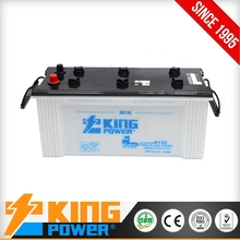 N150 Dry Charged Car Battery 12V150AH