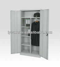medical steel locker unassembled type steel locker