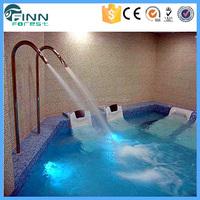 swimming pool spa pool stainless steel water jet