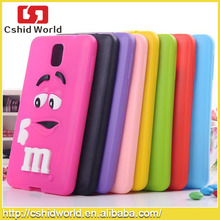 Mm Lovely Beans For Samsung Galaxy Note 3 Silicone Case,Soft Skin Mobile Phone Back Cover