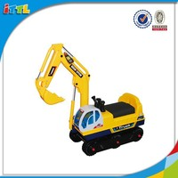 New product kids ride on car toy excavator 2015 hot item toy