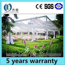 Transparent roof luxury wedding tent for outdoor weddings